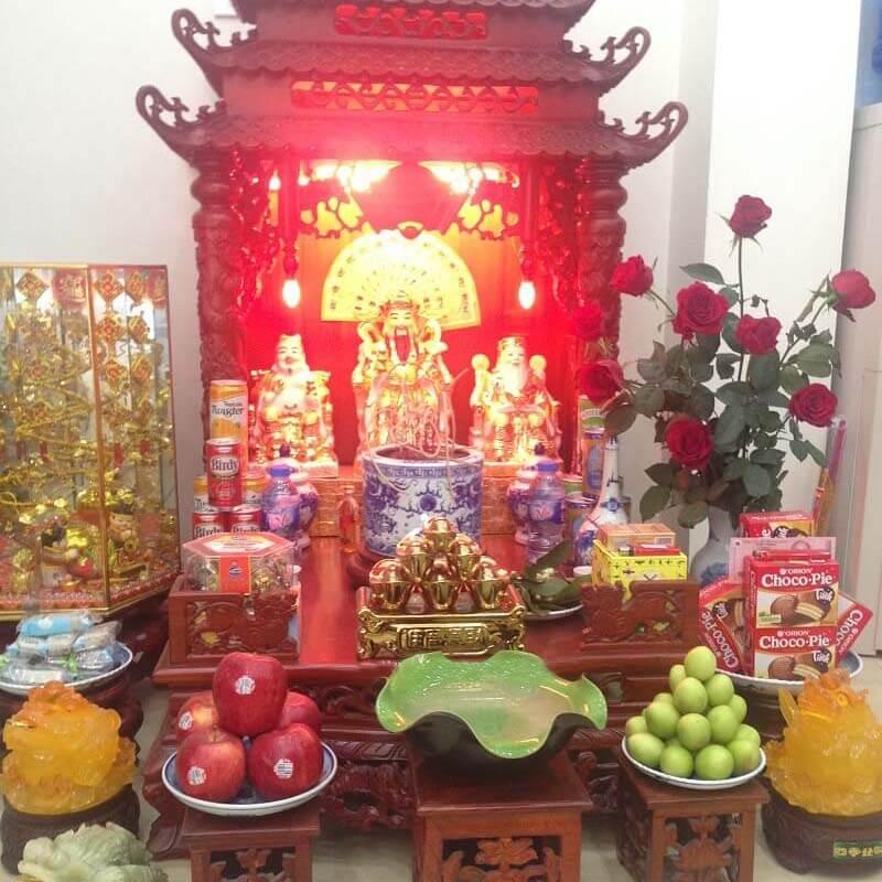 Bàn thờ gỗ đẹp- đơn vị cung cấp các loại bàn thờ uy tín nhất