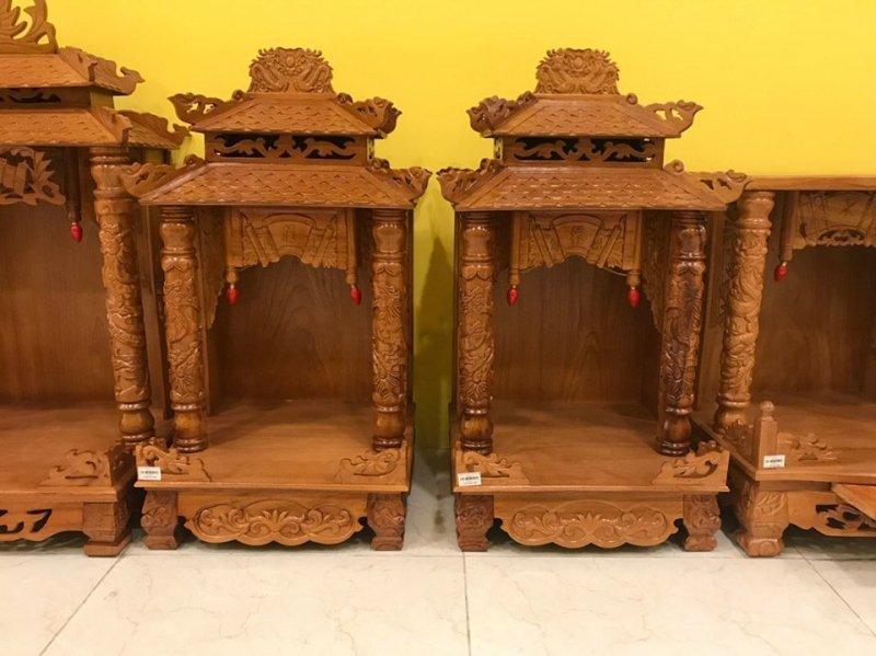 bàn thờ Thần Tài giá rẻ tpHCM- Hà Nội