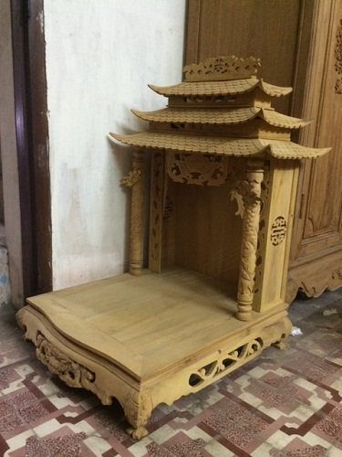 Bàn thờ Thần Tài gỗ - Bàn Thờ Gỗ Đẹp