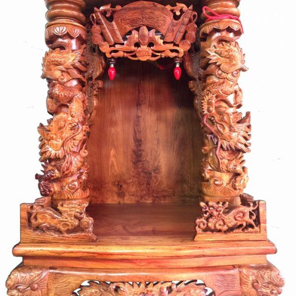 bàn thờ Thần Tài gỗ đẹp