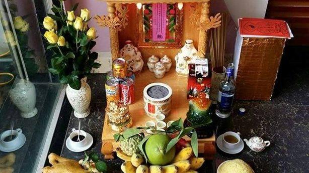 cách bày bàn thờ thần tài ngày tết đẹp