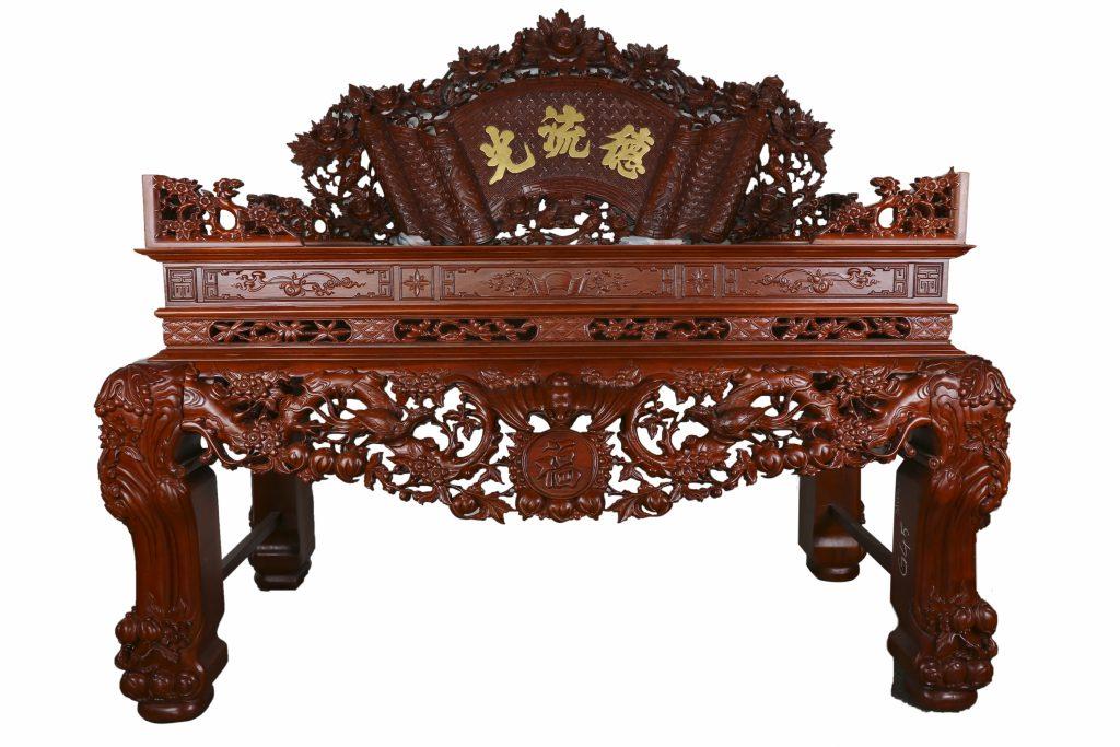 Sập thờ gỗ Hương - Bàn Thờ Gỗ Đẹp