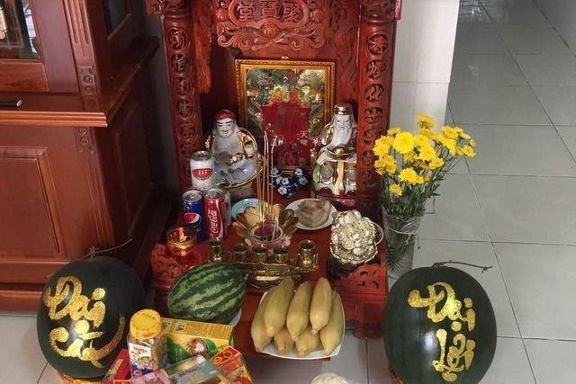 Vị trí đặt bàn thờ Thần Tài ngày 23 đón tài lộc